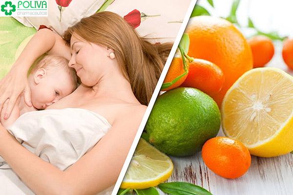 Bổ sung thực phẩm dinh dưỡng để có một dòng sữa mẹ tốt nhất cho con.