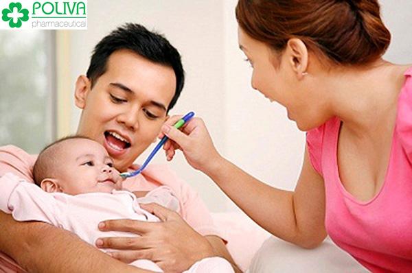 Đảm bảo cung cấp đầy đủ chất dinh dưỡng để bé có sức đề kháng tốt.