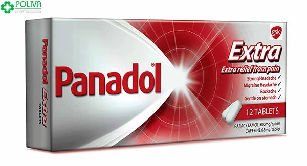 Panadol có tác dụng giảm các triệu chứng đau đầu, cảm cúm.