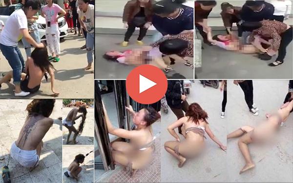 Cập nhật: 10 Video đánh ghen lột đồ mới nhất, kinh hoàng nhất năm