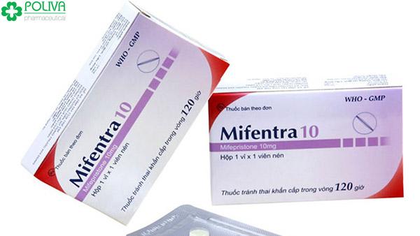Mifentra 10 là thuốc tránh thai khẩn cấp được dùng phổ biến