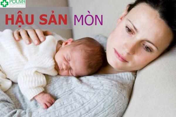 Phụ nữ cần cẩn thận với chứng hậu sản mòn sau sinh