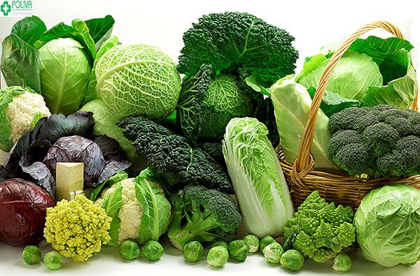 Bổ sung rau xanh là điều rất cần thiết cho cả mẹ và thai nhi
