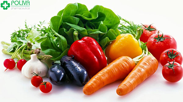 Các loại rau củ quả màu sắc rực rỡ có tác dụng hỗ trợ hoạt động của não.