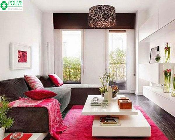 Sử dụng thảm trải sàn giúp ngôi nhà sinh động hơn là một trong cách trang trí nhà cửa đẹp hiện nay