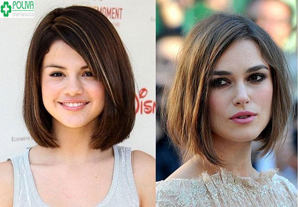 Trẻ trung, năng động với kiểu tóc Lob ngắn kết hợp kiểu makeup đậm cho bạn gái