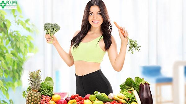 Kết hợp với các bài tập cùng chế độ ăn uống hợp lý là cách để có thân hình đẹp cho nữ