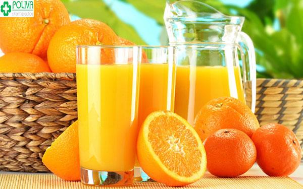 Uống nước cam đúng cách tốt cho sức khỏe