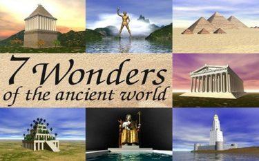 """7 kỳ quan thiên nhiên thế giới thời cổ đại – Những công trình bằng """"xương và máu"""""""