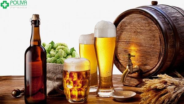 Khi bị giời leo nên tránh những đồ uống có cồn