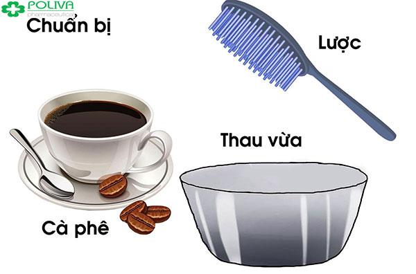 Cách nhuộm tóc bằng cà phê chuẩn cần chuẩn bị đầy đủ nguyên liệu