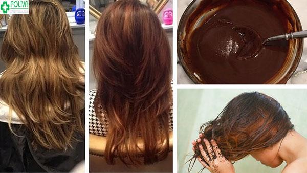 Cách nhộm tóc bằng cà phê cho mái tóc suôn mượt