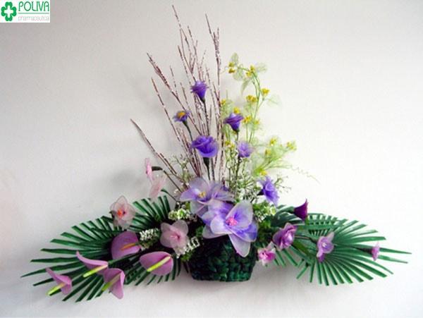 Kiểu cắm hoa ngang đẹp và lạ mắt