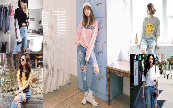 """Cách làm quần jean rách: Hô biến quần jean cũ """"CHẤT"""" hơn theo cách bạn muốn"""