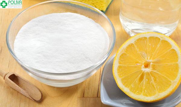 Cách sử dụng baking soda với chanh làm trắng răng hiệu quả