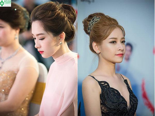 Bạn có thể biến tấu mái tóc của mình với kiểu búi tóc tăng nét sang trọng đi dự đám cưới