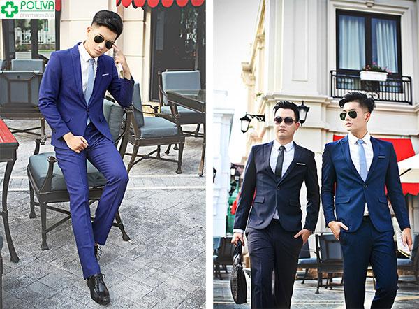Bộ suit vừa vặn là cách tốt nhất để chàng gầy lấy lại cân nặng trong mắt người khác