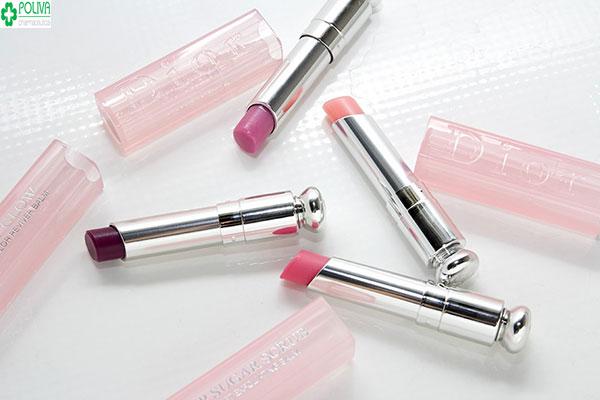 Dior Addict Lip Glow - son dưỡng môi không chì, mềm môi, sáng bóng