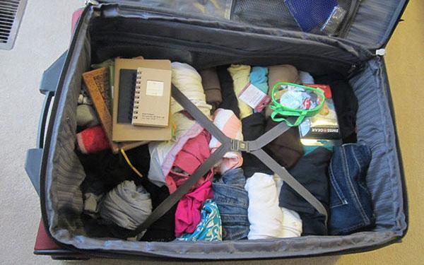 Sốc: 5 cách gấp quần áo đi du lịch chỉ mất 1 phút