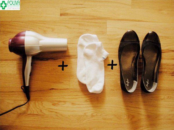 Cách làm rộng giày bằng nhiệt độ đơn giản