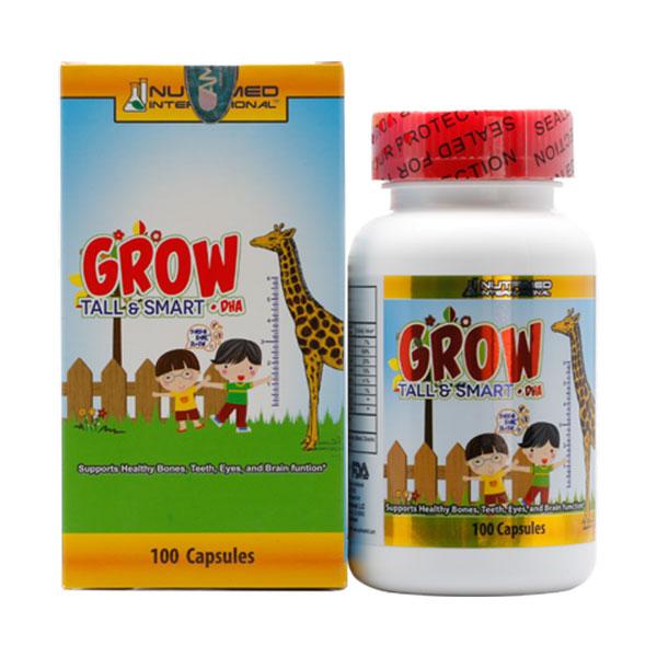 Viên uống Grow Tall & Smart + DHA