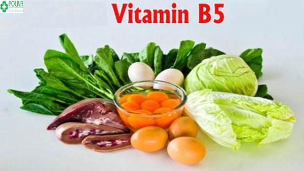 Vitamin B5 rất tốt cho tim mạch, tránh tình trạng rụng tóc...