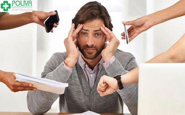 Căng thăng, mệt mỏi khiến nam giới dễ bị xuất tinh sớm