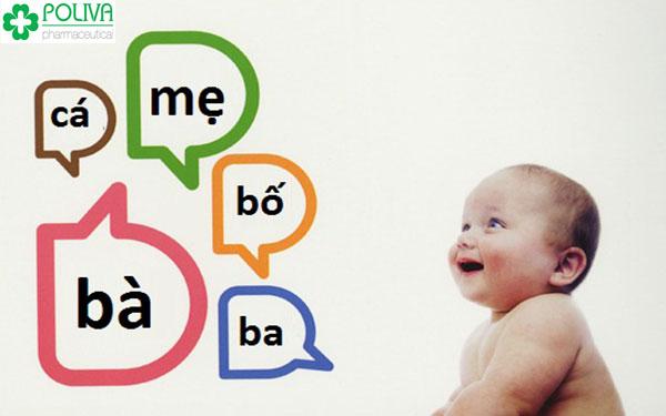 Trẻ đã có thể gọi các thành viên trong gia đình