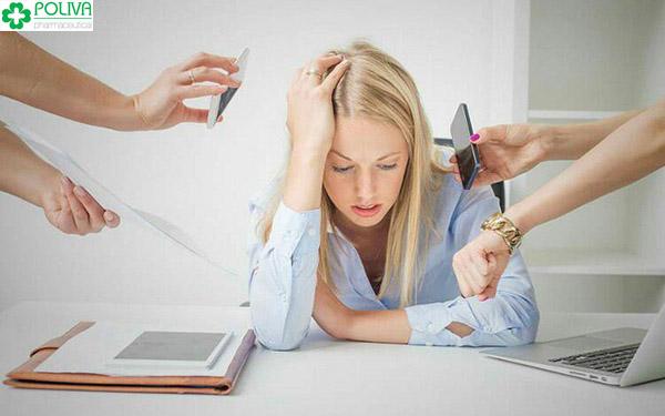 Áp lực trong cuộc sống, công việc là nguyên nhân trầm cảm phổ biến nhất.