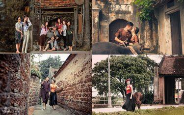 """Bật mí địa điểm chụp ảnh ở làng cổ đường Lâm """"cực ảo"""""""