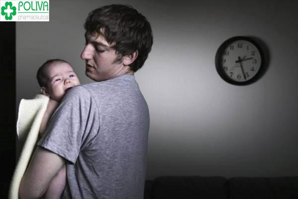 Hình thành thời gian ngủ hợp lý cho bé