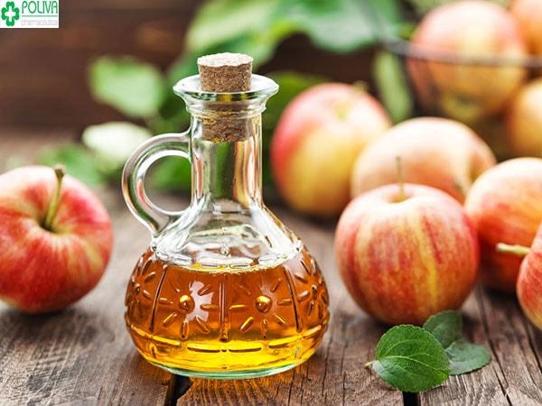 Giấm táo xoa dịu ngay vết muỗi đốt