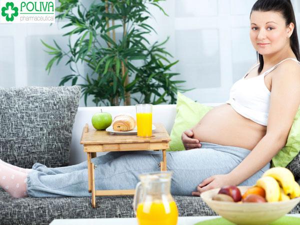 Mẹ bầu có sức khỏe tốt để thai nhi phát triển khỏe mạnh