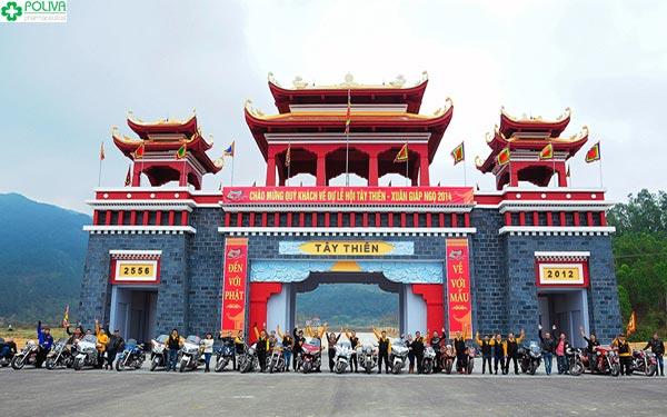 Du lịch chùa Tây Thiên mang đến nhiều trải nghiệm hấp dẫn