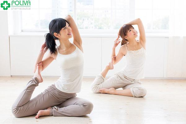 Giảm đau bụng kinh bằng luyện tập thể dục