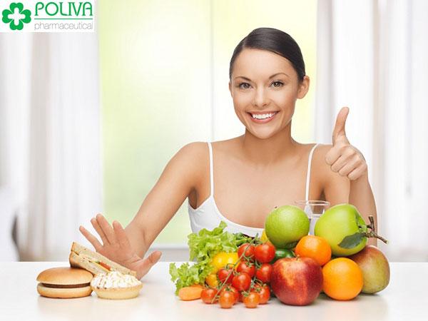 Cần cải thiện chế độ dinh dưỡng đầy đủ kết hợp chế độ nghỉ ngơi và tập luyện thể dục thể thao