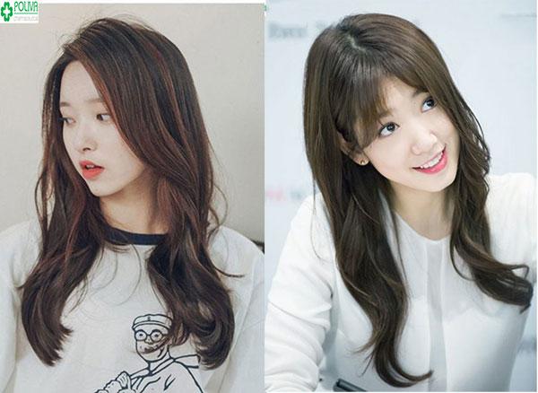 Kiểu tóc xoăn tự nhiên mang phong cách Hàn Quốc tạo sự trẻ trung cho bạn gái