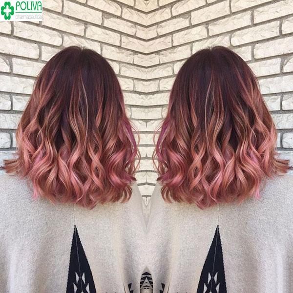 Highlight hồng cam siêu đẹp, sành điệu dành cho cô nàng cá tính thích sự phá cách