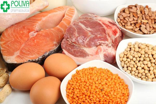 Thực phẩm giàu Protein tốt cho mẹ bị dọa sảy thai