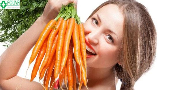 Nhuộm tóc bằng cà rốt cho bạn gái với mái tóc tuyệt đẹp