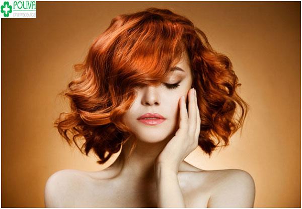 Quyến rũ với màu tóc nhuộm từ cà rốt làm đơn giản tại nhà