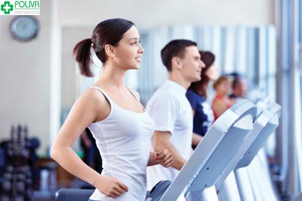 Thường xuyên tập luyện thể thao để cải thiện tình hình