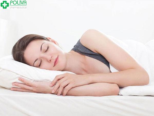 Giữ một tinh thần thoải mái để có giấc ngủ sâu