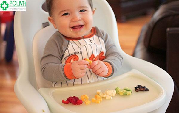 Ăn dặm giúp tăng khả năng ăn thức ăn thô cho trẻ
