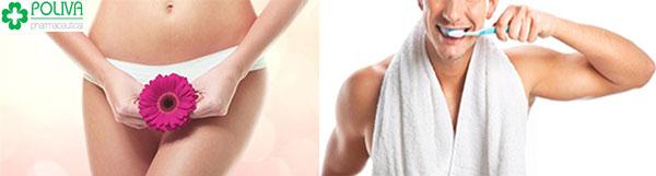 Yêu theo tư thế 69 cần đảm bảo vệ sinh sạch sẽ vùng miệng và bộ phận sinh dục