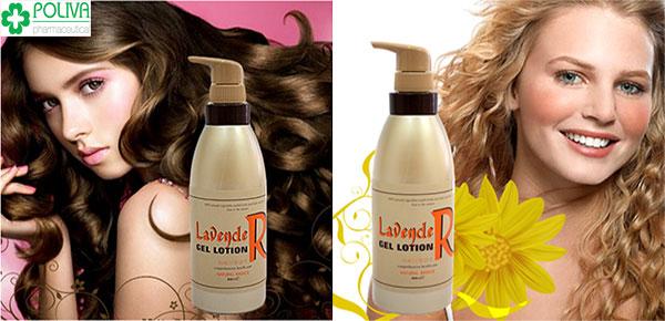 Gel dưỡng tóc - cứu tinh cho tóc khô xơ