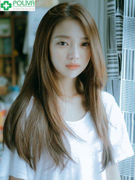 Mẫu tóc dài cắt lớp