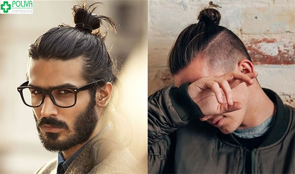 Mẫu tóc dài nam búi đằng sau