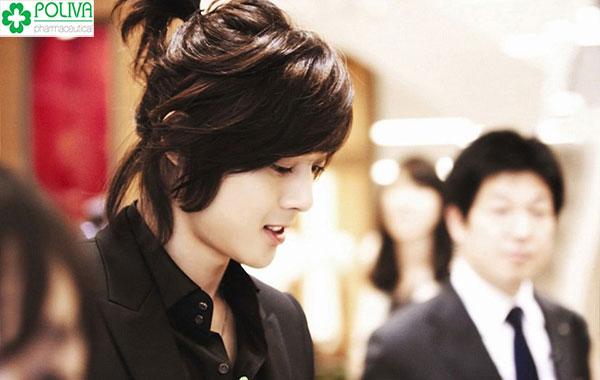 Mẫu tóc dài cho nam