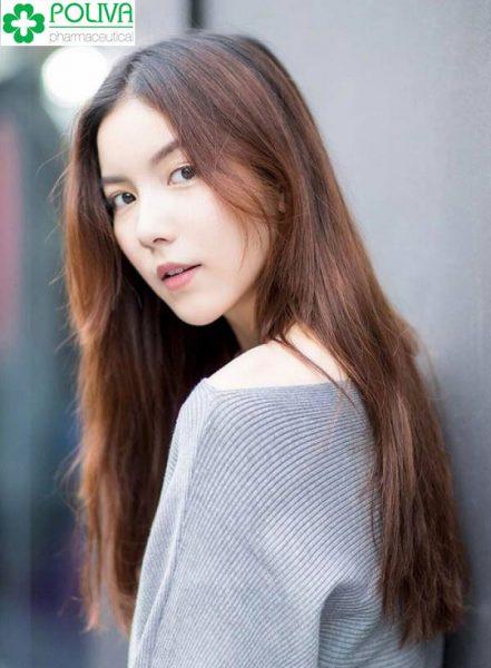 Mẫu tóc cho nữ mặt dài